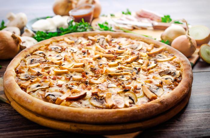 Receta: Pizza Barbacoa